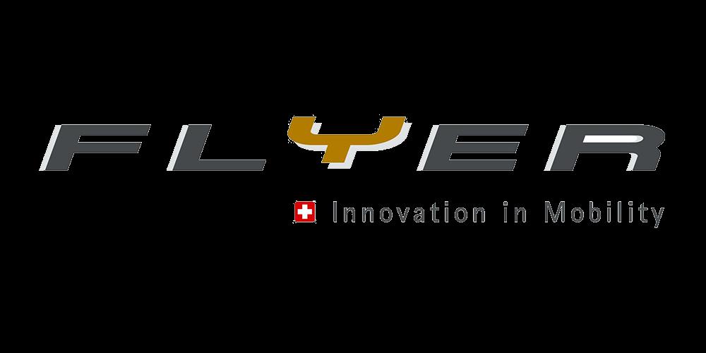 Logo Fahrrad Marke Flyer