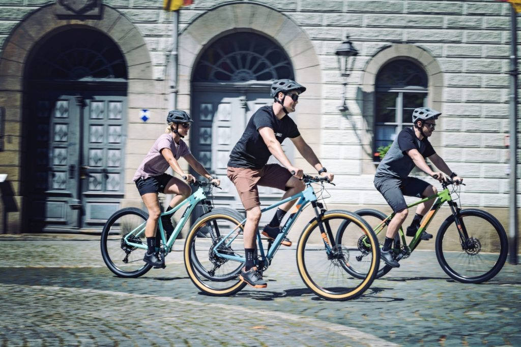 Stadt Fahrrad